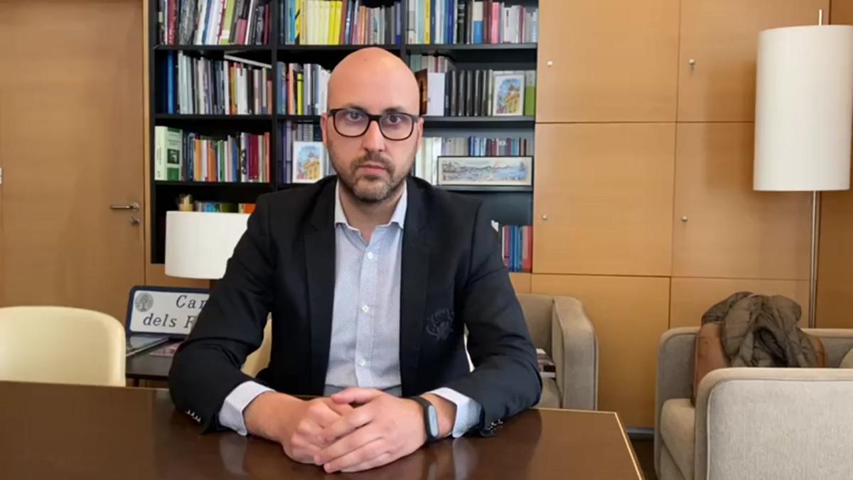 Declaraciones del alcalde de Lloret de Mar, Jaume Dulsat.