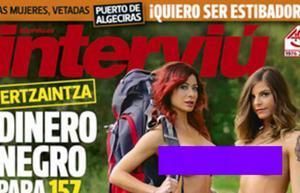 Rocío y Carol, las gogós de «Pekín Express», se desnudan en la portada de Interviú