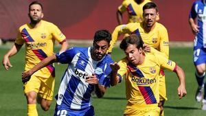 Els joves animen el Barça