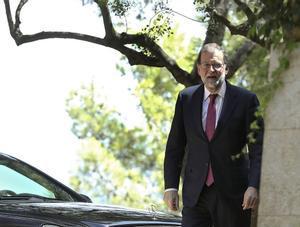 Mariano Rajoy, en Palma.