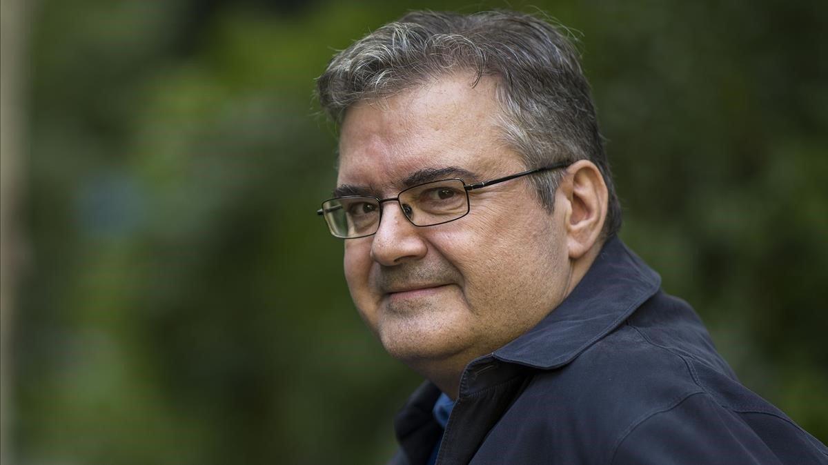 El escritor Sergi Pàmies.