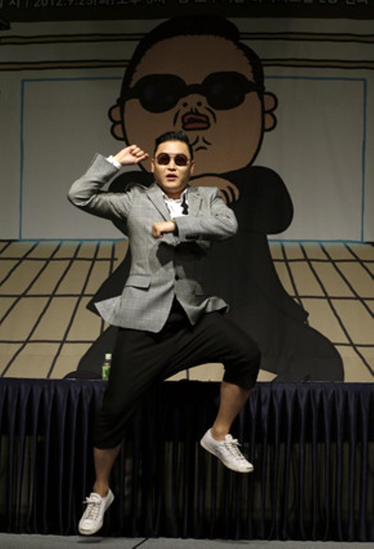 El rapero surcoreano PSY.