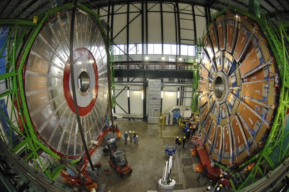 Uno de los grandes aparatos utilizados en la búsqueda del bosón de Higgs.