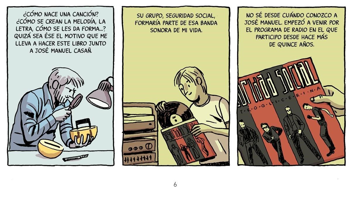 Viñeta de 'La encrucijada', de Paco Roca y Seguridad Social.