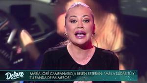 La familia Janeiro apoya a Belén Esteban en su enfrentamiento con María José Campanario