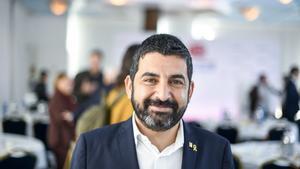 El 'conseller' deTreball, Afers Socials i Famílies, Chakir El Homrani.