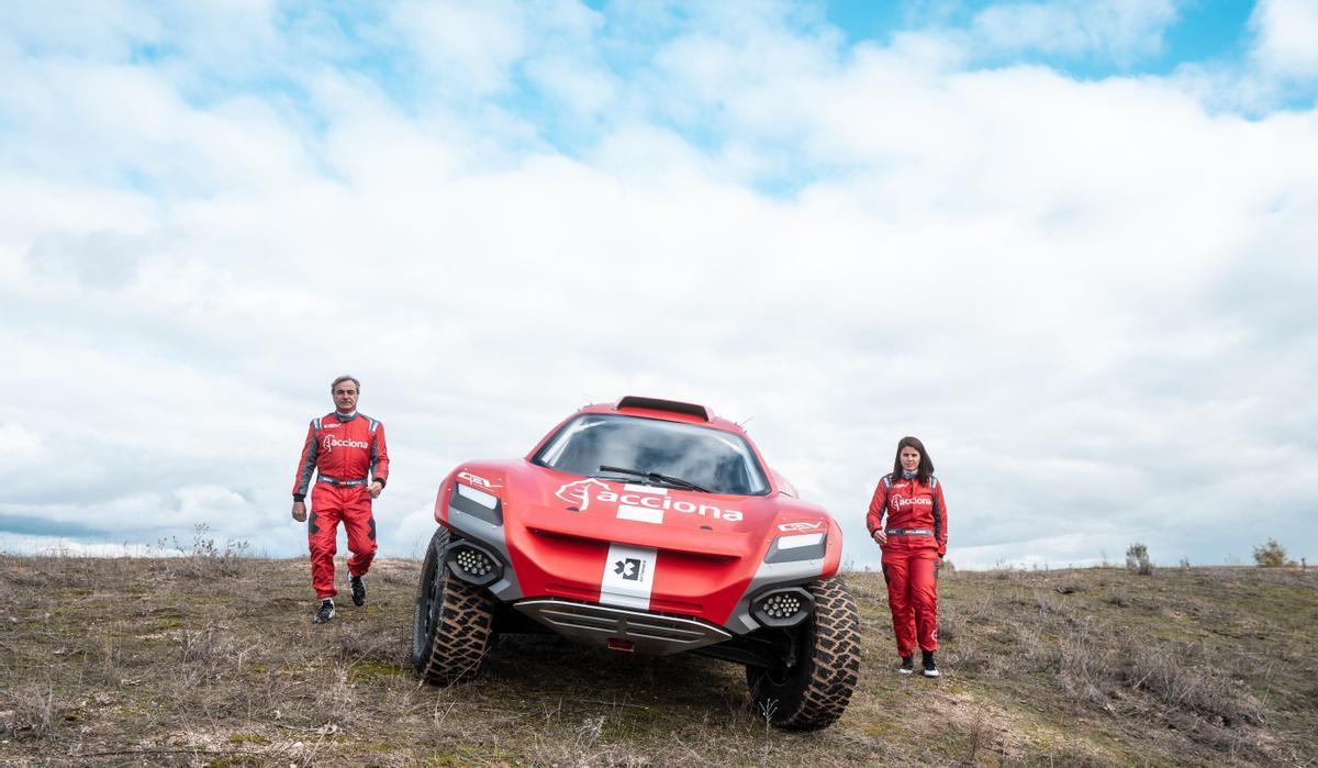 El ACCIONA | Sainz XE Team comienza en Arabia Saudí su participación en Extreme E, la nueva competición sostenible