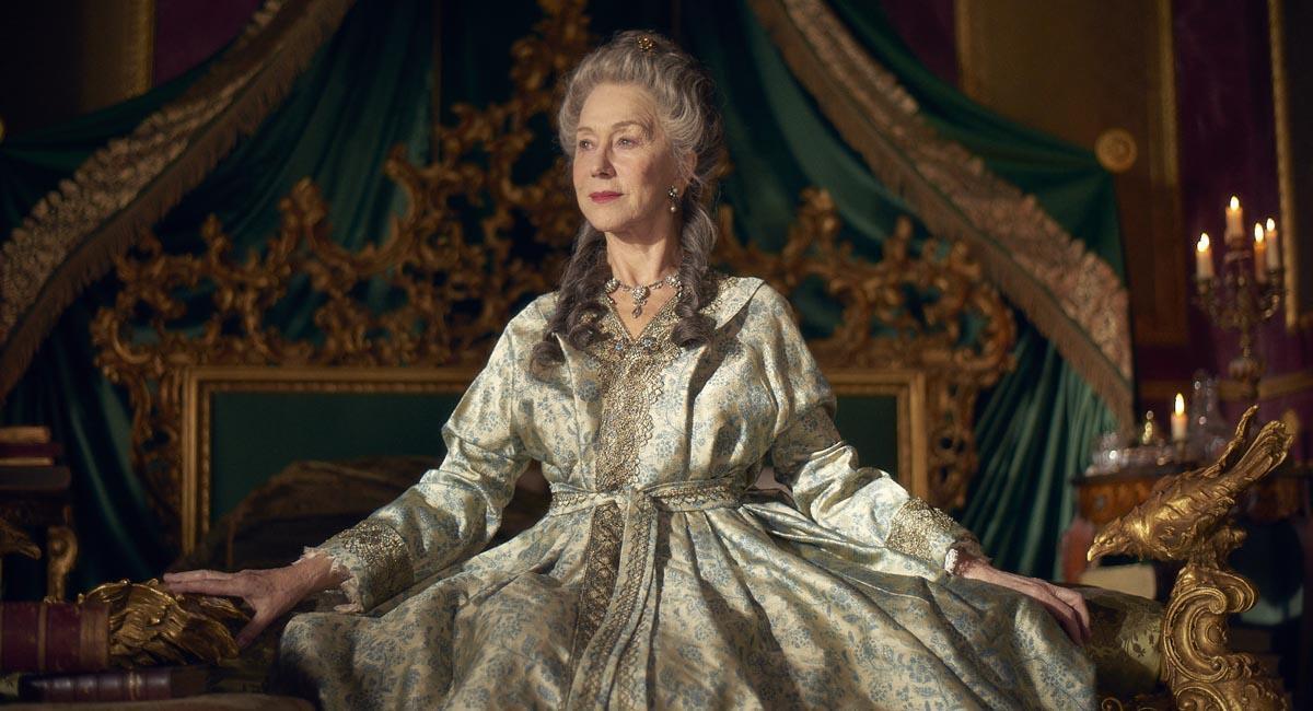 La oscarizada Helen Mirre, en el papel de la poderosa emperatriz que gobernó Rusia en el siglo XVIII, protagonista de 'Catalina la Grande'.