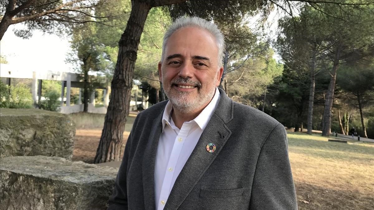 Javier Lafuente, nuevo rector de la Universitat Autònoma de Barcelona (UAB).