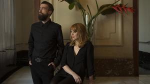 Aitor Saraiba y Paula Bonet, este viernes en Barcelona.