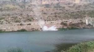 Una mujer cae en coche al pantano de Alarcón (Cuenca).