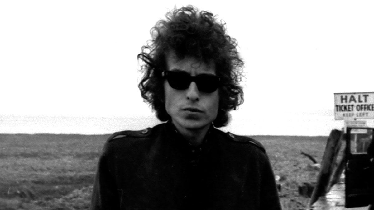 Retrato de Bob Dylan utilizado para la portada de 'No Direction Home'