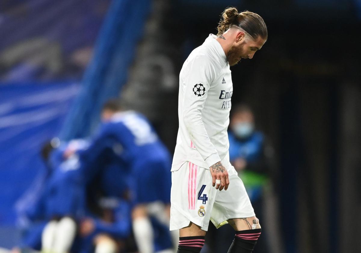Sergio Ramos, de nou de baixa abans del Madrid-Sevilla