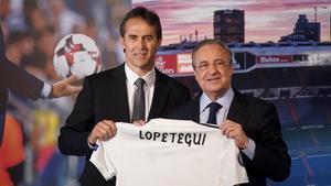 Julen Lopetegui es presenta com a entrenador del Reial Madrid, en directe