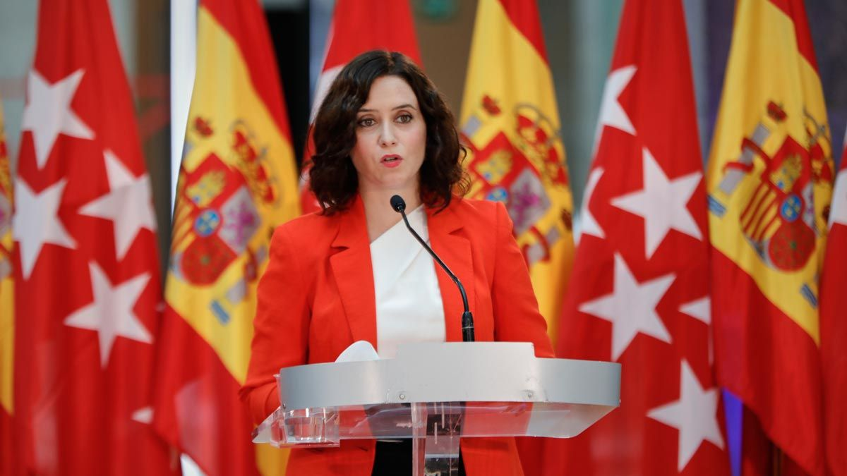Ayuso ve injusto comparar datos de Madrid con los de otras regiones.