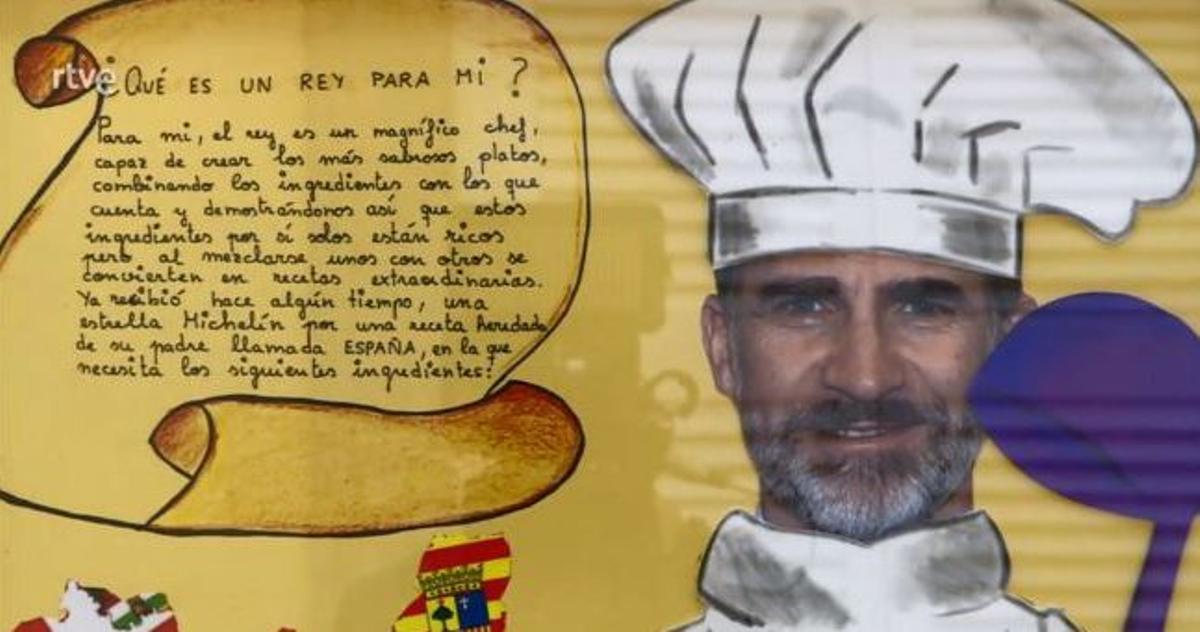 Concurso '¿Qué es un Rey para tí?' (TVE-1).
