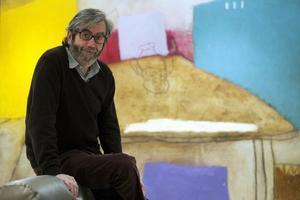 El escritor Antonio Muñoz Molina, en Barcelona.