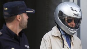Antonio González Pacheco, 'Billy el Niño', sale de los juzgados de Madrid, en el 2014.