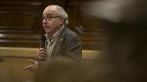 Bargalló, en el Parlament, en mayo del 2019.