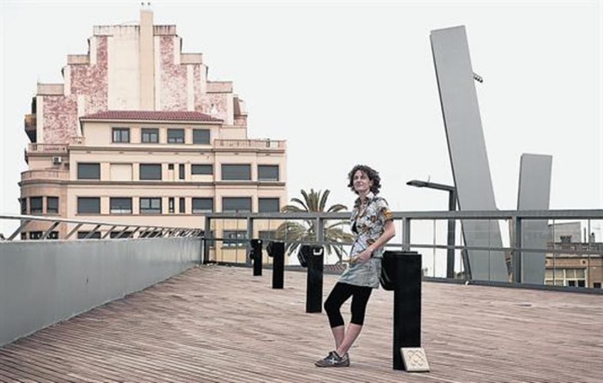 """Marina Garcés, filósofa: """"Barcelona es como un laboratorio que se asusta de sí mismo"""""""