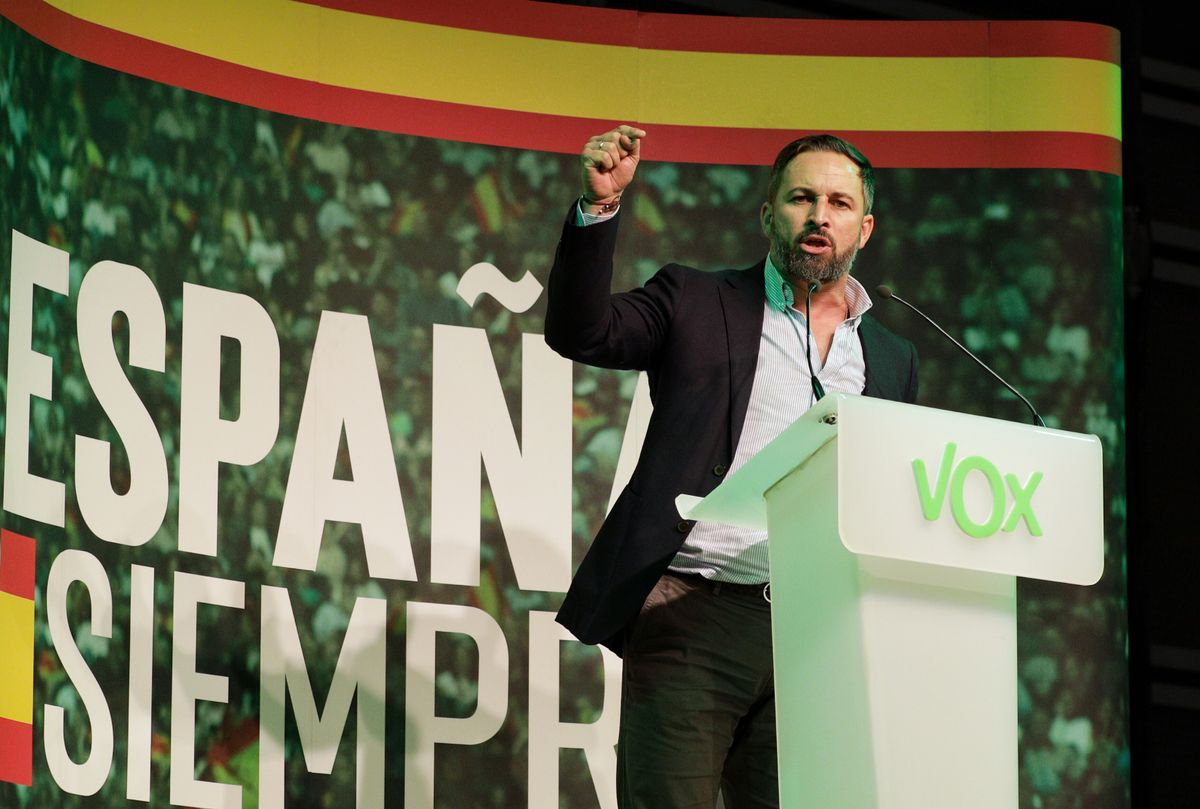 El Tribunal de Comptes denuncia una factura oculta d'un míting d'Abascal a València