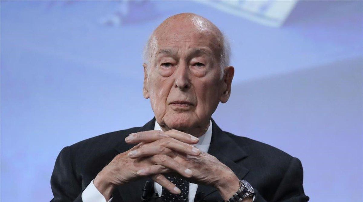 Valéry Giscard d'Estaing, en junio del 2019.