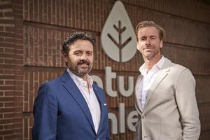 Octavio Laguía (izquierda) y Niklas Gustafson son los fundadores de la marca de productos saludables Natural Athlete.