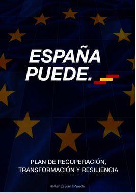 'Plan de recuperación, transformación y resiliencia'del Gobierno de España, a 7 de octubre del 2020.