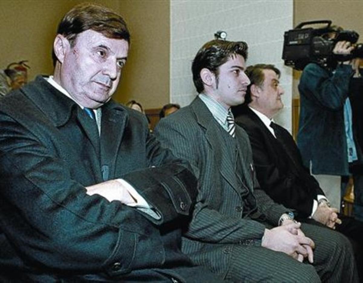 Curtido 8 José Manuel Quintía, el 'capitán Timo', en un juicio en la Audiencia de Barcelona, en el 2000.