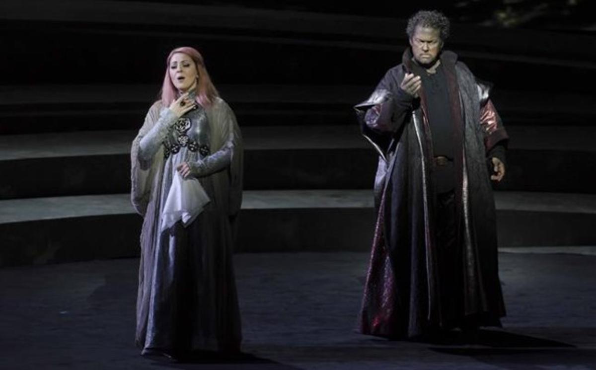 Escena de la ópera 'Otello' de Zubin Metha, en el Palau de les A