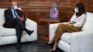 Reunión entre la ministra de Igualdad y el ministro de Justicia.