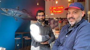 Los hermanos Mani y Magid Alam, de The Fish & Chips Shop.