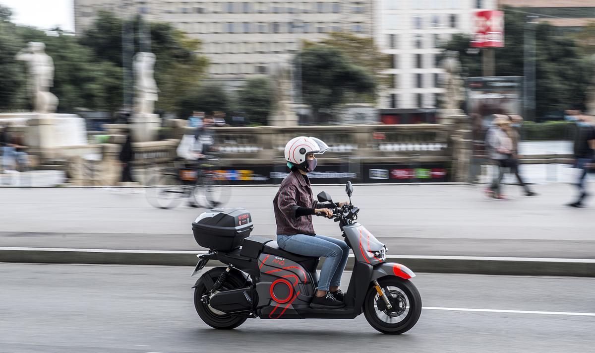 Seat Mó e-Scooter 125, ideal para la ciudad