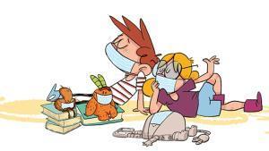 Imagen de '¡Juntos en casa! Los días del coronavirus', de la serie de cómics 'Agus y los Monstruos'.