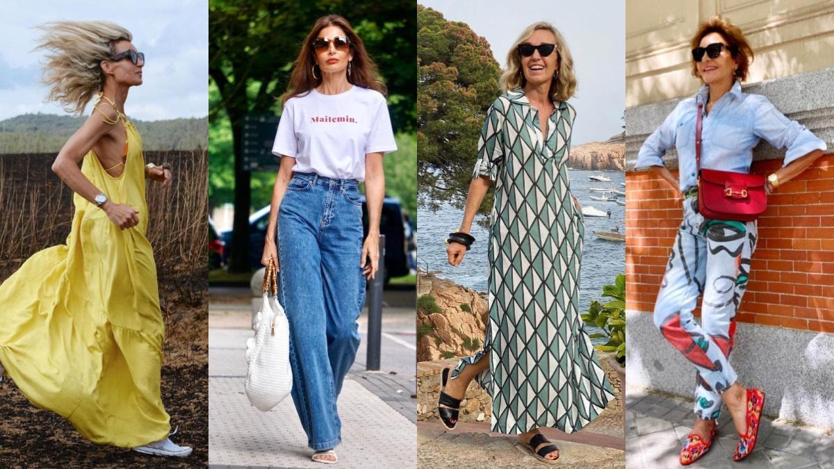 Cuatro 'influencers' de estilo y moda para mayores de 50.