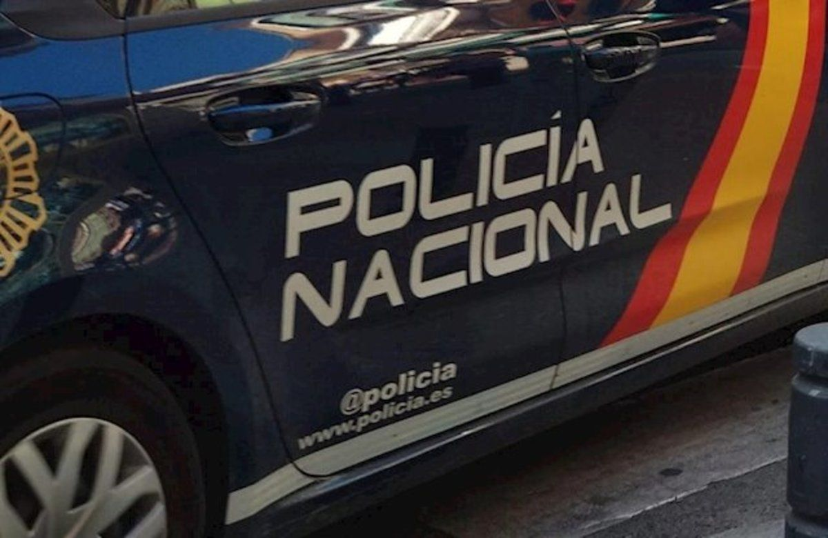 Un coche de la Policía Nacional.