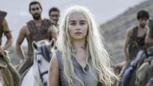 Emilia Clarke, en el papel de Daenerys Targaryen en 'Juego de Tronos'