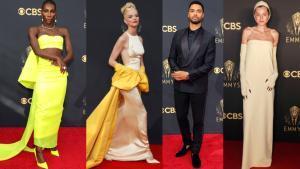 Los mejores vestidos de la alfombra roja de los Emmy 2021