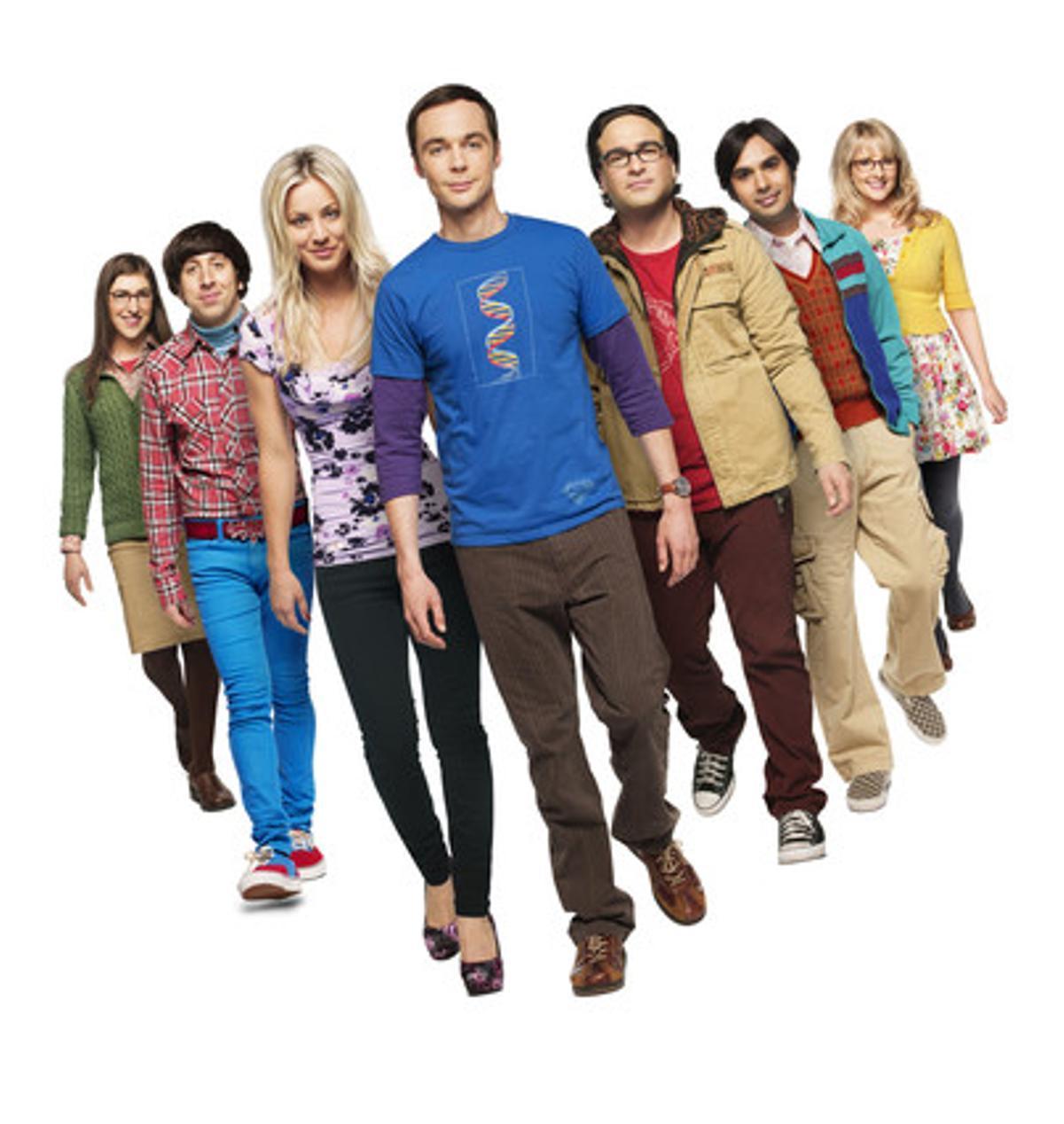 Protagonistas de la serie 'The Big Bang Theory'.
