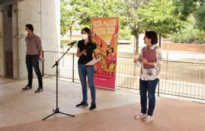 Presentación de la Fiesta Mayor de Verano 2021 de Santa Coloma de Gramenet.