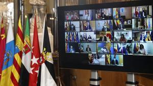 Conferencia de presidentes celebrada de forma virtual a finales del pasado mes de octubre.