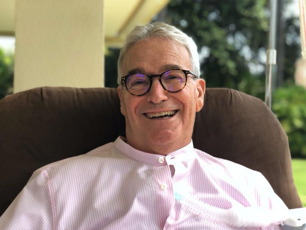 Francisco Luzón, expresidente de Argentariaenfermo de ELA.