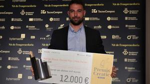 Gau3di guanya la 20a edició dels premis Creatic en la Nit de l'Emprenedoria de Mataró