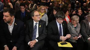 Puigdemont pide unidad en torno al Consell per la República