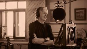 Paul McCartney, durante la grabacion del disco 'McCartney III' en su granja de Sussex.