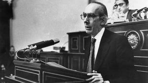 Josep Benet, en 1982.