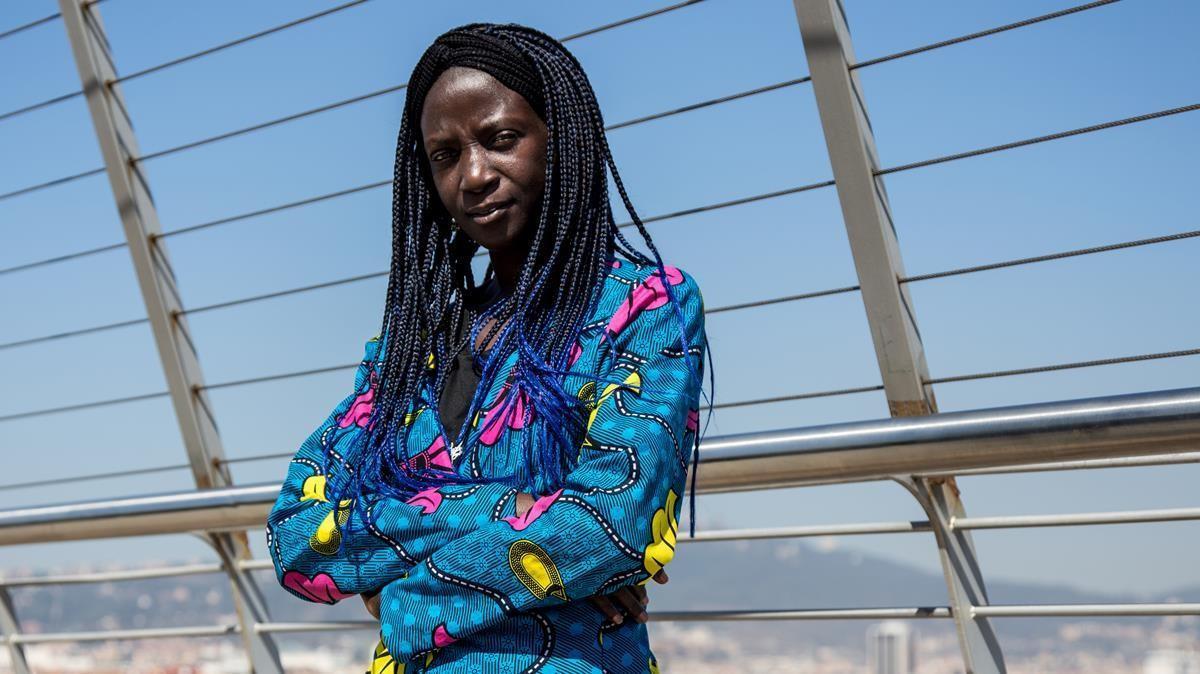 """Marie Faye: """"En Senegal yo nunca pasé hambre; en Barcelona, sí"""""""