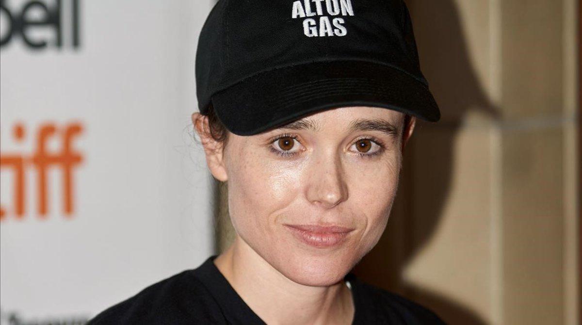 Ellen Page, en el 2019.