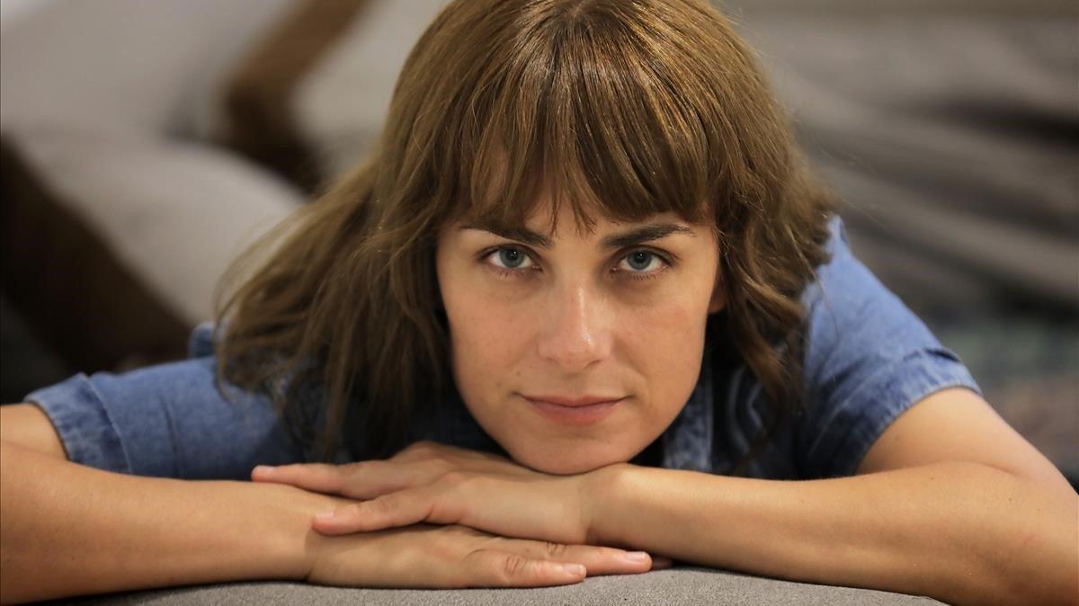 La escritora Sara Mesa, la pasada semana en Sevilla.
