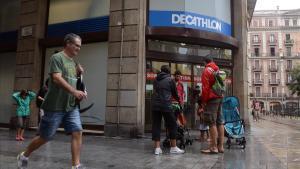 Tienda Decathlon en Barcelona.
